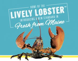 Maine Coast's new Lively Lobster™ brand.